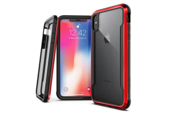 X-Doria Defense Drop Case Protection Cover Protect for Apple iPhone XS Max Red