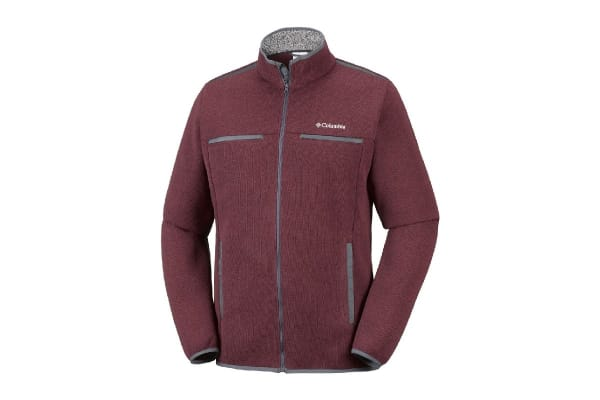 Columbia Terpin Point III Full Zip (Red Element, Size M)
