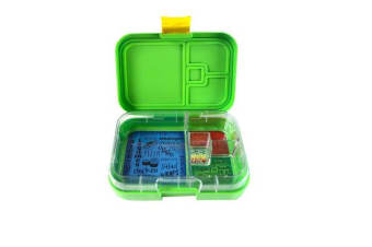 Munchbox Mini 4 Bento Box Green Jungle