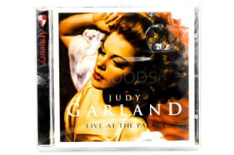 Judy Garland - Live at the Palace BRAND NEW SEALED MUSIC ALBUM CD - AU STOCK