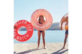 """""""Rosé All Day"""" Rose Gold Pool Ring Inflatable Float 