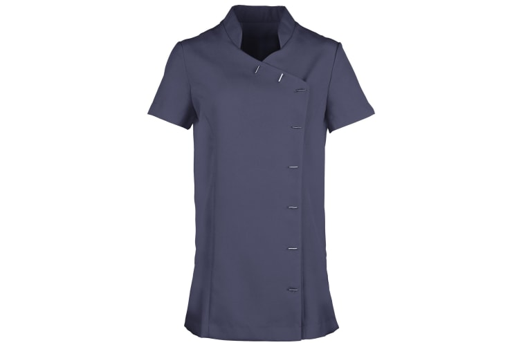 Premier Womens/Ladies *Orchid* Tunic / Health Beauty & Spa / Workwear (Navy) (14)