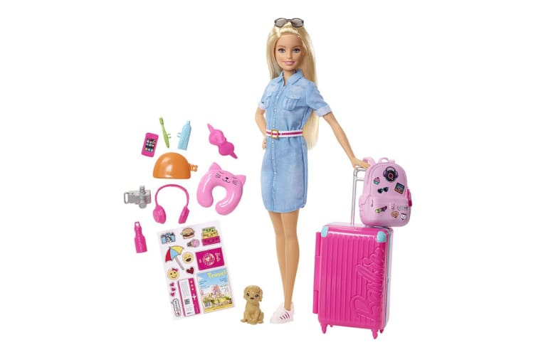 Barbie Travel Doll with Accessories