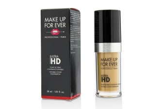 Make Up For Ever Ultra HD Invisible Cover Foundation - # Y405 (Golden Honey) 30ml