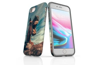For iPhone 7 Shielding Back Case  Horsin' Around