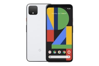 New Google Pixel 4 128GB 6GB RAM 4G LTE Smartphone Clearly White (FREE DELIVERY + 1 YEAR AU WARRANTY)