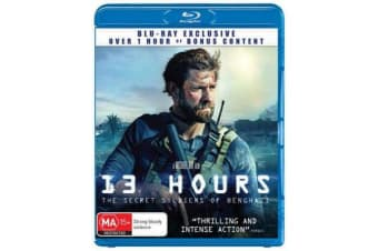 13 Hours : The Secret Soldiers of Benghazi (Blu-ray)
