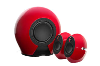 Edifier E235 Luna E 2.1 THX-Certified Active Bluetooth Speaker System with Optical 5.8G Wireless Subwoofer & 3.5mm AUX - Red (SPE-E235-RD)