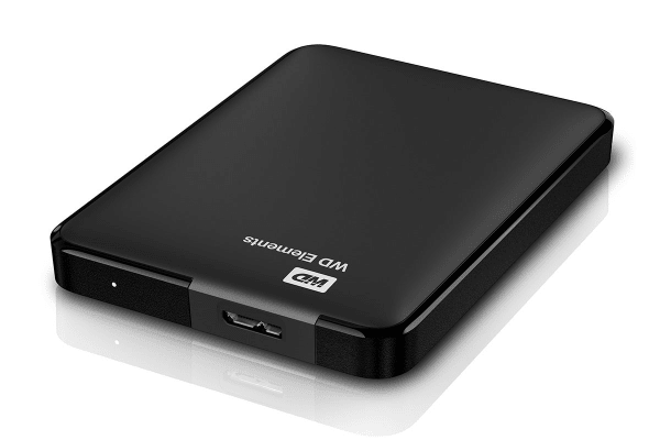 WD Elements 2TB USB 3.0 High-Capacity Portable Hard Drive (WDBU6Y0020BBK-WESN)