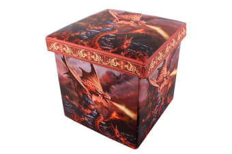 Age Of Dragons Fire Dragon Storage Box (Red)
