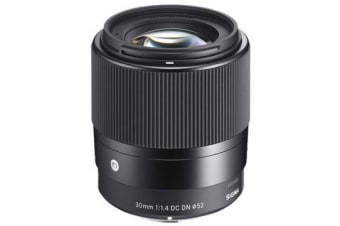 New Sigma 30mm f/1.4 DC DN Contemporary Lens Sony E (FREE DELIVERY + 1 YEAR AU WARRANTY)