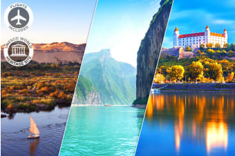 AROUND THE WORLD: 27 Day Package of the World Including Flights for Two
