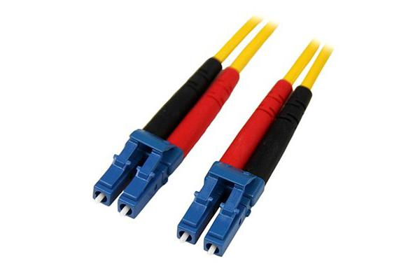 STARTECH SMFIBLCLC1 1m SM Duplex Fiber Patch Cable LC to LC
