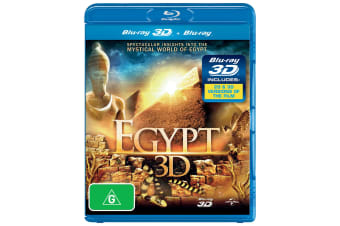 Egypt 3D Edition Blu-ray Region B
