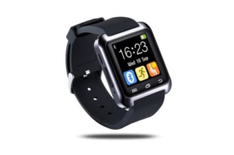 New U80 Bluetooth Smart Watch Phone Mate For Android Ios Iphone Samsung Black