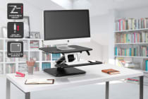 Ergolux Lite Height Adjustable Sit Stand Desk Riser (Compact)