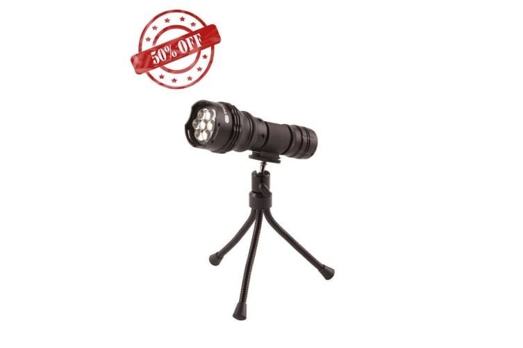 True Utility Flyeye 7 Led Tripodlite Led Torches Black