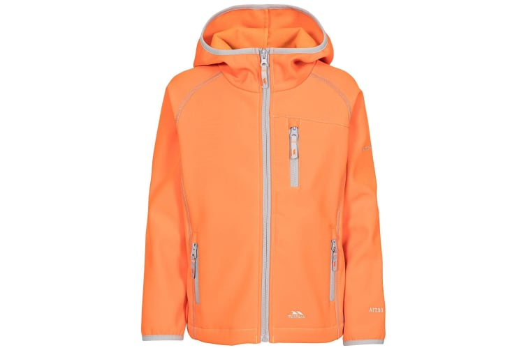 Trespass Childrens/Kids Kian Softshell Jacket (Sunset) (3/4 Years)