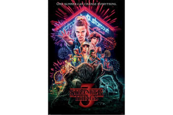 Stranger Things 3 Promo Poster (Multicoloured) (One Size)