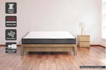 Ergolux 16cm Bonnell Spring Mattress (Queen)