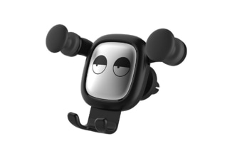 Select Mall Universal Creative Cartoon Adjustable Car Phone Holder Outlet Air Phone Holder Car Bracket-Black