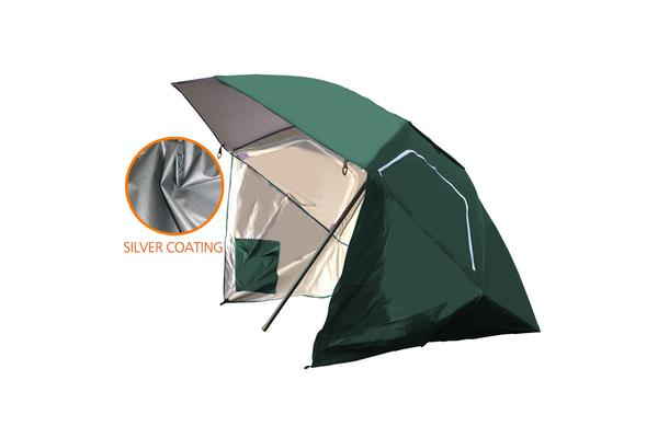 8FT Portable All-Weather Shelter Umbrella Tent TURQOISE