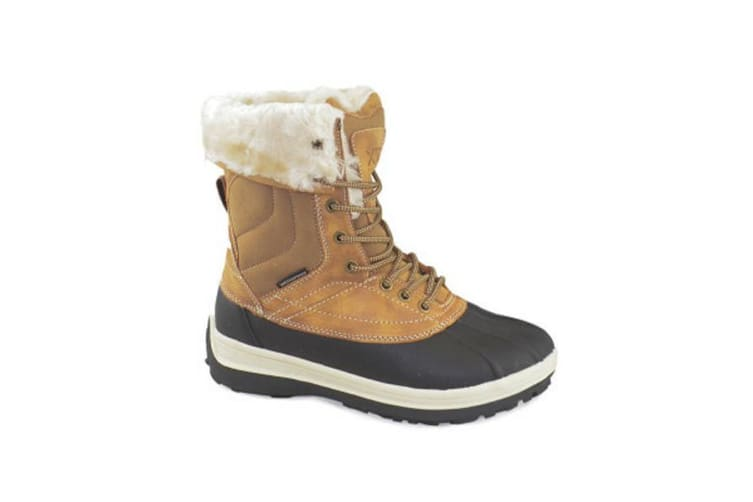 XTM Adult Female All Terrain Boots & Shoes Georgie Ladies Boot Brown - 40