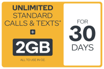 Kogan Mobile Prepaid Voucher Code: SMALL (30 Days | 2GB)