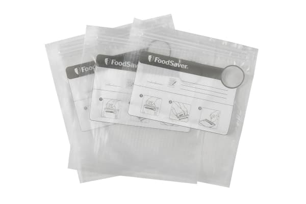 Sunbeam FoodSaver Reusable Vacuum Zipper Bags - 35 Pack (VS0500)