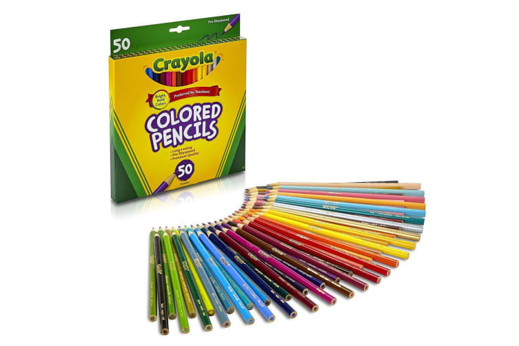 Crayola Full Size Colour Pencils - 36 Pack