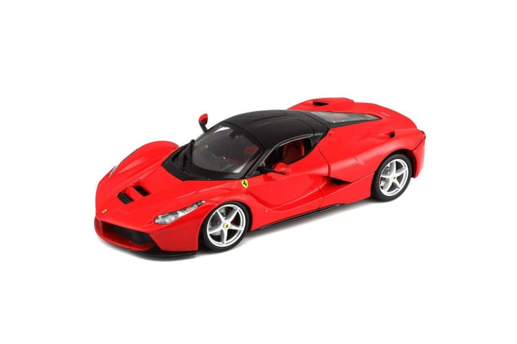 Bburago 1:24 Ferrari Race & Play LaFerrari Racing Diecast Car Toys/Play Red 3y+