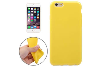 For iPhone 6S PLUS 6 PLUS Case  Durable Shielding Cover Playful Yellow