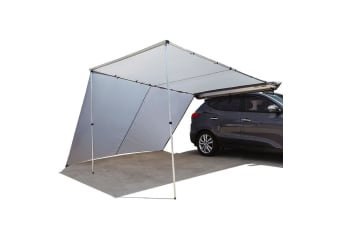 BULLET 2.5mx3m Roof Rack Car Awning & Extension Pull-Out Tent Side Shade 4X4 4WD