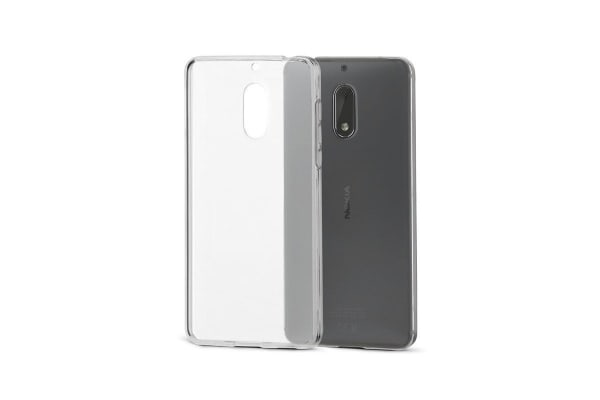 Nokia 6 Slim Bumper Case (Clear)