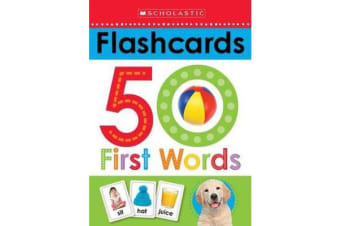Flashcards - 50 First Words (Scholastic Early Learners)