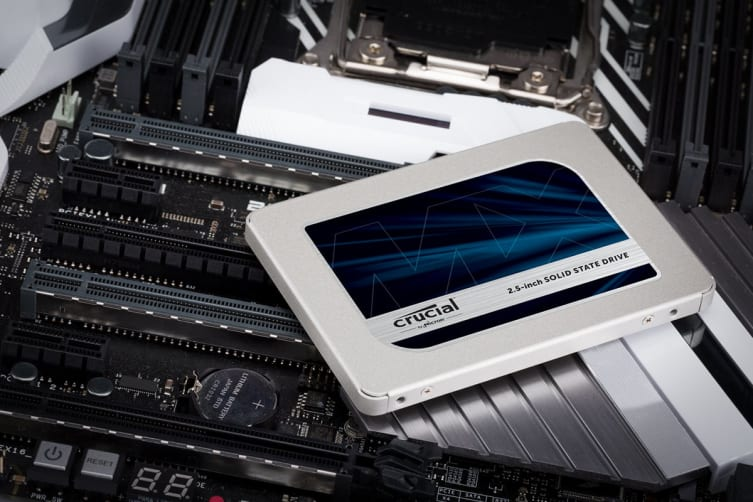 Crucial MX500 500GB SATA 2.5-inch 7mm (with 9.5mm adapter) Internal SSD (CT500MX500SSD1)