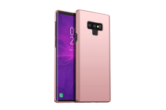 Frosted Shield Matte Ultra Thin Slim Light Fit Case For Samsung Note9 Rose Gold Samsung Note9