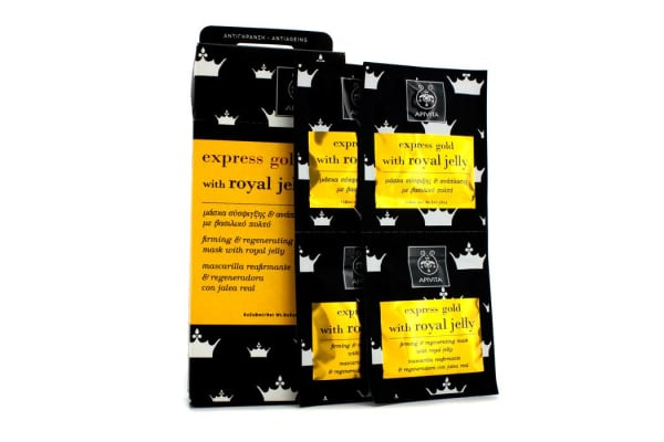 Apivita Express Gold Firming & Regenrating Mask with Royal Jelly (6x(2x8ml))