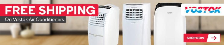 Free Shipping on Vostok Air Conditioners
