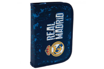 Real Madrid CF Filled Pencil Case (Blue)