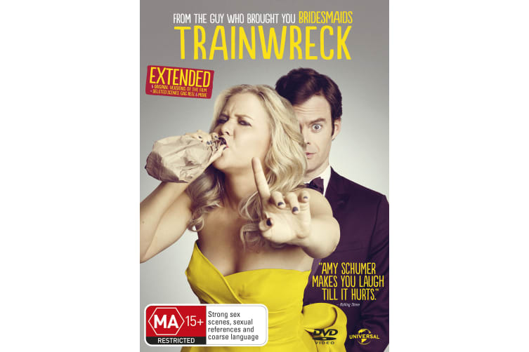 Trainwreck DVD Region 4