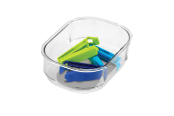 Madesmart Clear Soft Grip Tray 13.3x 8.1x4.8cm