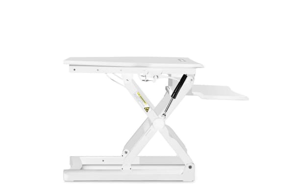 Kogan Corner Height Adjustable Standing Desk Riser (White)