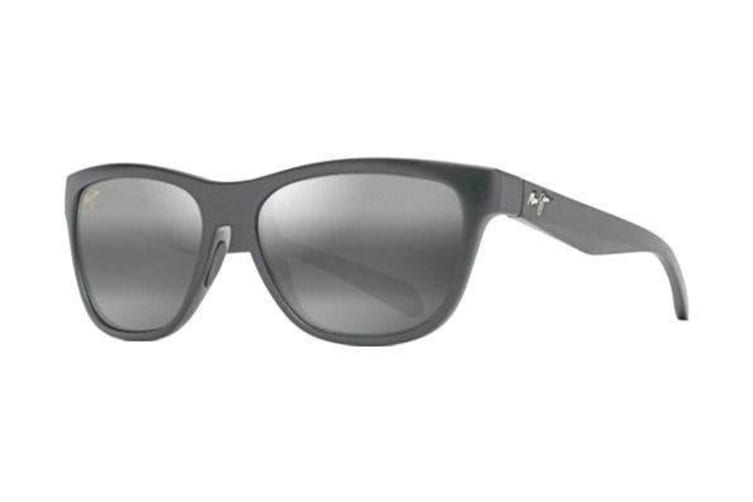 e90e7c7f4ba3 Maui Jim Secrets 767-2M Black Matte Mens Womens Sunglasses - Kogan.com