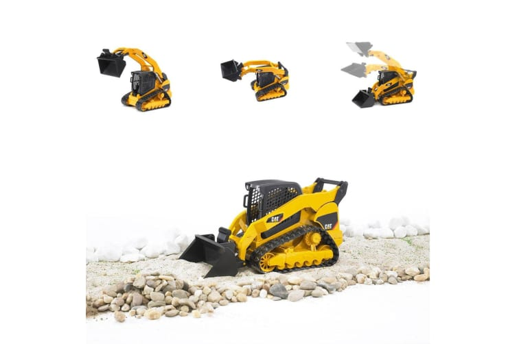 Bruder 25cm 1:16 CAT Caterpillar Compact Track Loader Excavator Tractor  Kids Toy