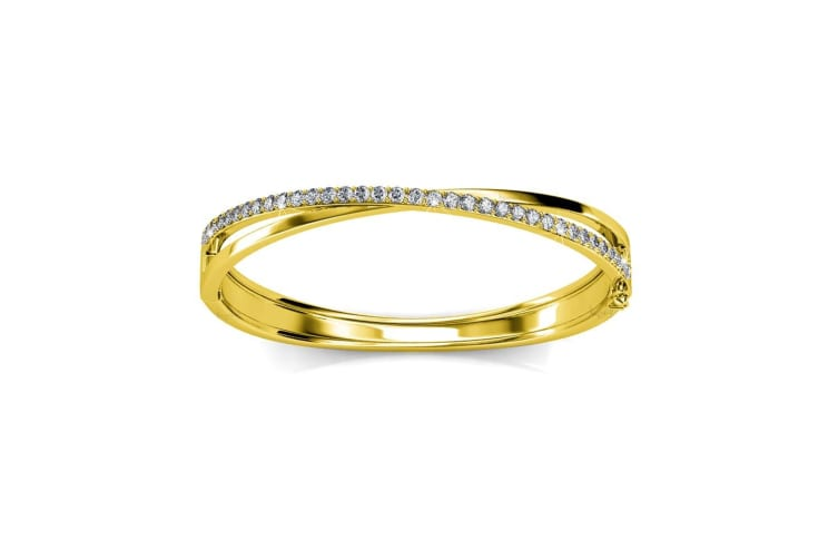 Perfection Bangle Embellished with Swarovski crystals