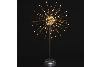 Starburst LED Light Features - 3 Fantastic Designs! - Silver Standing 30cm