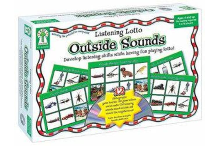 Listening Lotto - Outside Sounds