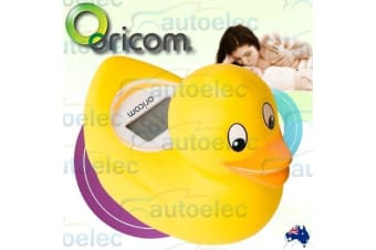 Digital Lcd Floating Bath & Room Thermometer With Temperature Alert Baby Duck