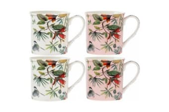Babylon Mugs (Set Of 4) (Multicoloured) (One Size)